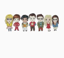 Sheldon and Friends One Piece - Long Sleeve
