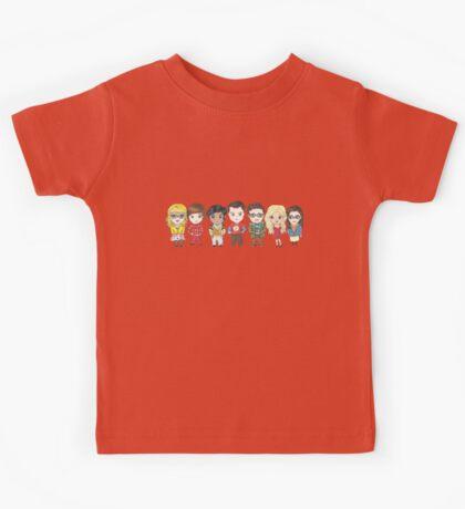 Sheldon and Friends Kids Tee