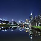 Melbourne by light by Peter Krause