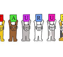 Taurus cats birthday greetings. by KateTaylor