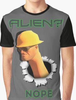 Alien? Nope [Engineer TF2] Graphic T-Shirt