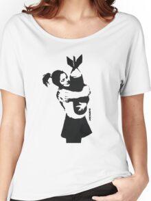 BANKSY - BOMB HUGGER Women's Relaxed Fit T-Shirt