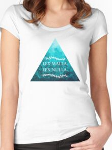 A Bad Law is No Law Women's Fitted Scoop T-Shirt