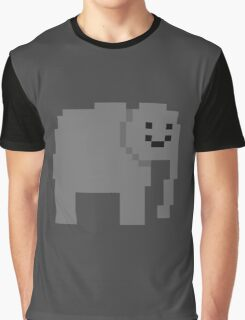 Unturned Elephant Graphic T-Shirt