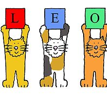 Leo birthday cats. by KateTaylor