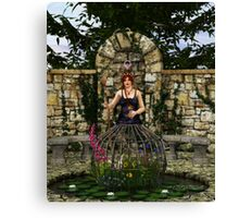 Tarot-Empress Canvas Print