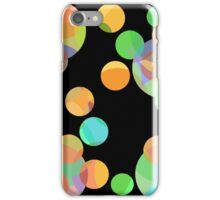 Colorful dots iPhone Case/Skin