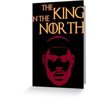 Lebron James - The King in the North Greeting Card