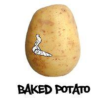 Baked Potato Funny Shirt by RhinoEdits
