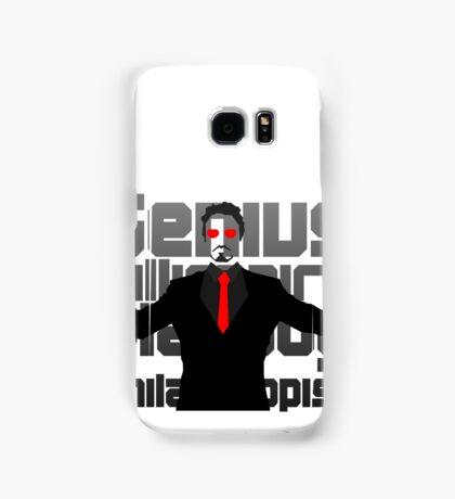 Genius billionaire playboy philanthropist. (fanart) Samsung Galaxy Case/Skin