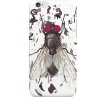 Abstract Fly on Shirt iPhone Case/Skin