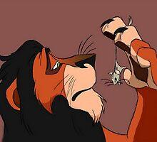 Scar - Lion King by Helen Blenkhorn