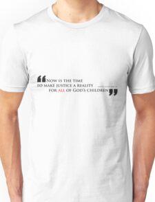 Martin Luther King, Jr. (black text) Unisex T-Shirt