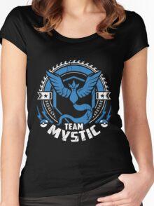 Pokemon Go team Mystic  Women's Fitted Scoop T-Shirt