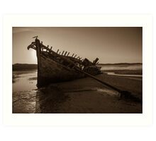 Bunbeg, County Donegal, Ireland Art Print