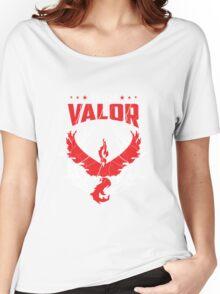 Pokemon Go team Valor Women's Relaxed Fit T-Shirt