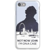 Sherlocked 2 iPhone Case/Skin
