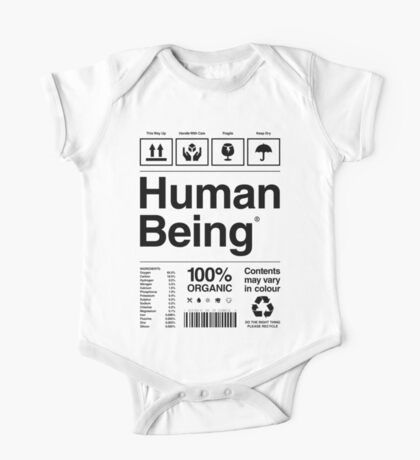 Human Being® One Piece - Short Sleeve