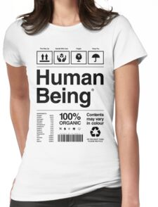 Human Being® Womens Fitted T-Shirt