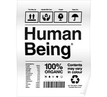 Human Being® Poster