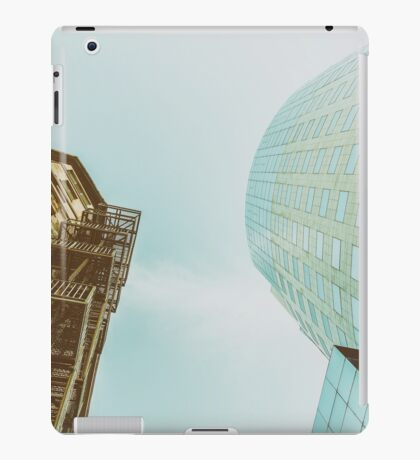 Old Versus New Architecture iPad Case/Skin