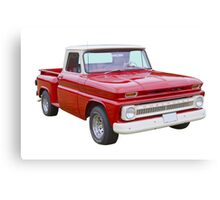 1965 Chevrolet Pickup Truck Canvas Print