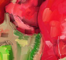 Red Poppies - 2012 Sticker