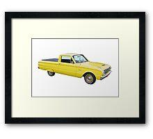 1962 Ford Falcon Pickup Truck Framed Print
