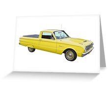 1962 Ford Falcon Pickup Truck Greeting Card