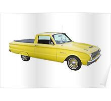 1962 Ford Falcon Pickup Truck Poster