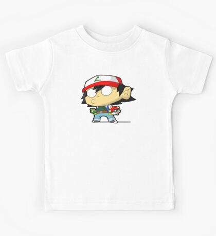 Gotta Chibi Them All Kids Tee