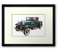 1930 Ford Model A Antique Pickup Truck Framed Print