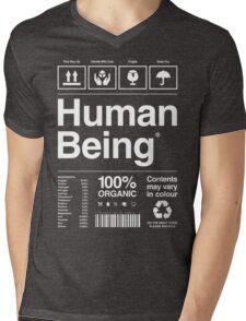 Human Being®   Alternate Mens V-Neck T-Shirt