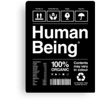 Human Being® | Alternate Canvas Print
