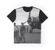 'Off on Ops' - Crew preparing for take-off Graphic T-Shirt