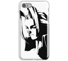 Sephiroth portrait iPhone Case/Skin