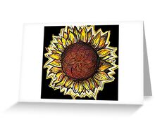 HELIANTHUS Greeting Card