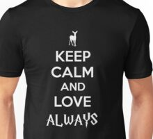 Harry Potter Severus Snape Keep Calm Love Always Unisex T-Shirt