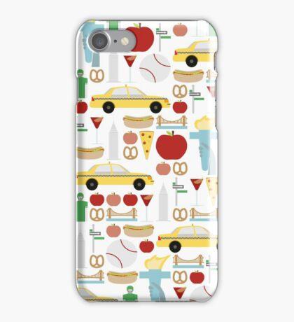 New York City Pattern iPhone Case/Skin
