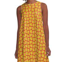 Abstract Geometric 260413(8) A-Line Dress