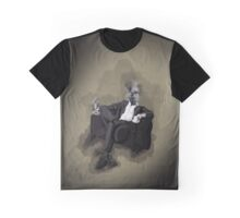 An Uncomfortable Gentleman Graphic T-Shirt