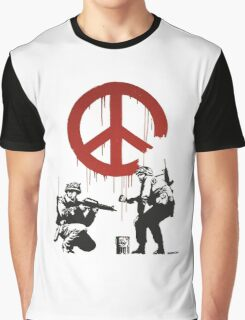 BANKSY - CND Graphic T-Shirt