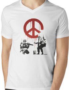 BANKSY - CND Mens V-Neck T-Shirt