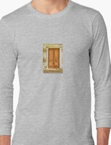 Ornate Door Long Sleeve T-Shirt