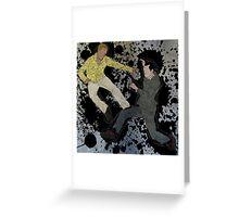 Eames and Arthur - Jump Greeting Card