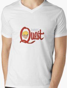 Jonny Quest Mens V-Neck T-Shirt