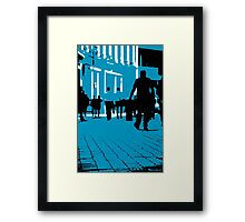 London Office Workers Framed Print