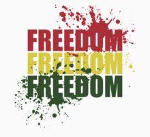 Reggae Freedom One Piece - Short Sleeve