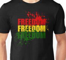 Reggae Freedom Unisex T-Shirt