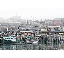 On the Waterfront Life Is Good Photographic Print